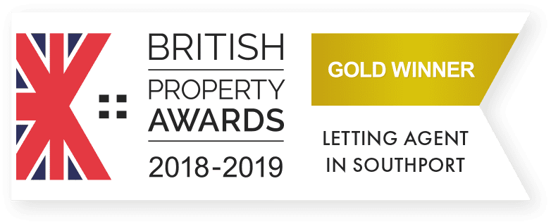 Anthony James win The British Property Lettings Award for Southport